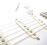 Electric Guitar Strings Stock Photo