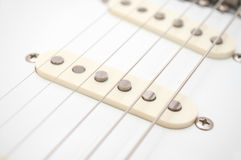 Electric Guitar Strings Stock Images