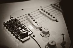 Electric guitar Royalty Free Stock Images