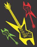 Electric Guitar Vector Design Clipart Stock Photos