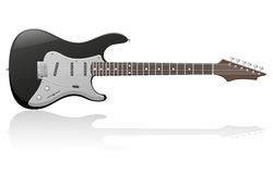 Electric guitar vector illustration Stock Photo