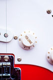 Electric guitar volume dial Royalty Free Stock Photo
