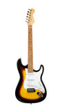 Electric guitar. On a white background stock images