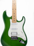 Electric guitar on white background Stock Image