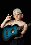 Electric guitarist Stock Images
