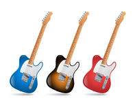 Electric guitars Royalty Free Stock Image
