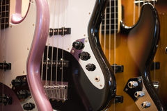 Electric guitars background Stock Image