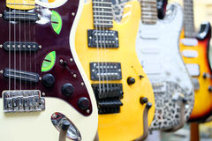 electric guitars Stock Photos