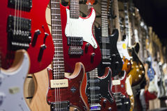 Electric guitars Royalty Free Stock Photo