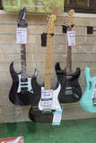 Electric guitars Stock Photography