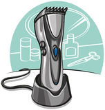Electric hair clipper Stock Images
