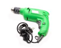 Electric hammer drill Royalty Free Stock Images