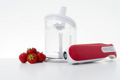 Electric hand blender Stock Images