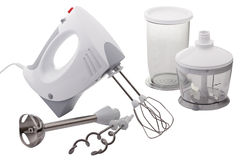 Electric hand mixer. Stock Image