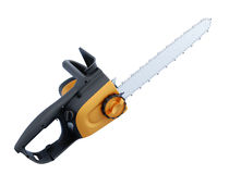 Electric hand saw on white background. 3d illustration Stock Photos
