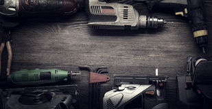 Electric hand tools Stock Photos