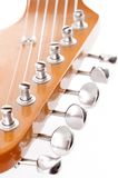 Electric headstock. Isolated on white background Royalty Free Stock Photos