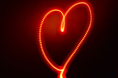 Electric Heart Stock Photography
