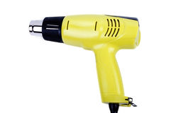 Electric heat gun isolated Royalty Free Stock Photography