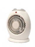 Electric Heater. Isolated on white background Royalty Free Stock Photo