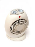Electric Heater. Isolated on white background Royalty Free Stock Images