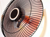 Electric heater Royalty Free Stock Images