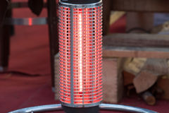 Electric heater close up detail Stock Photography