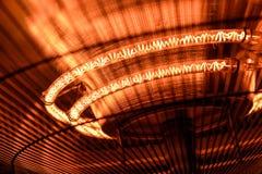 Electric heater closeup photo Stock Image