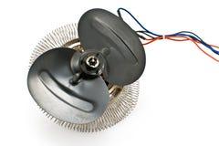 Electric heater propeller Stock Photo