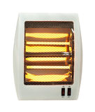 Electric heater white isolated Stock Image
