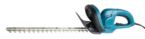 Electric Hedge Trimmer Stock Photo