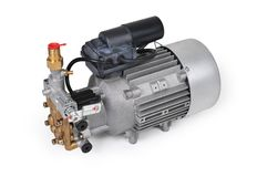 Electric high pressure pump Royalty Free Stock Photography