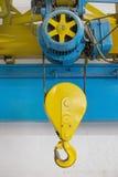 Electric hoist Stock Photography