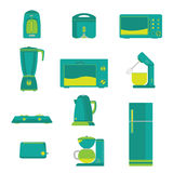 Electric Home Kitchen appliance Vector Stock Photos