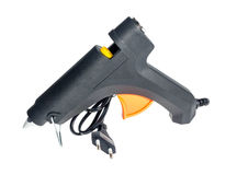 Electric hot glue gun Stock Photos