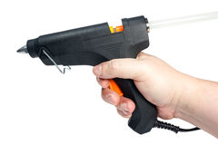 Electric hot glue gun Stock Image