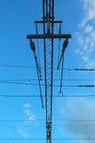 Electric instalation Stock Image