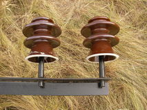 Electric insulator Royalty Free Stock Photography