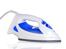 Electric iron. Isolated Royalty Free Stock Image