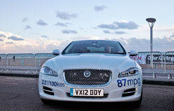 Electric Jaguar car Royalty Free Stock Photography
