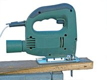 Electric jig saw Stock Photo