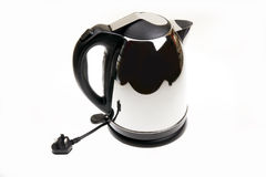 Electric kettle. Isolated on a white background royalty free stock images