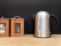 Electric Kettle. A close up shot of an electric kettle Royalty Free Stock Image
