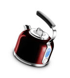 Electric kettle isolated Stock Image