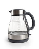 Electric kettle isolated on white background Stock Photo