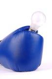 An electric lamp Stock Photos