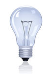 Electric lamp. On white background. Vector illustration Stock Images
