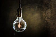 Electric lamp hanging Stock Image