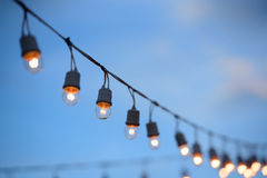 Electric lamp Stock Photography