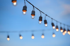Electric lamp Royalty Free Stock Photography